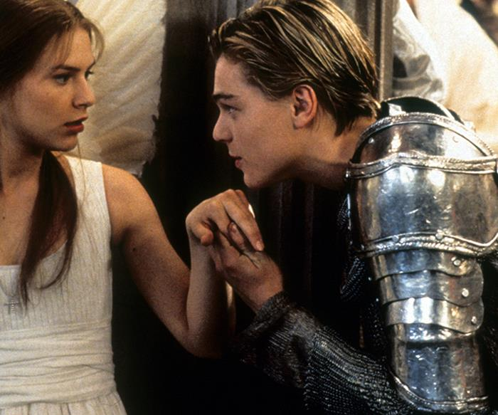 leonardo dicaprio romeo and juliet
