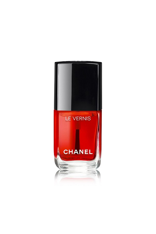"""<strong>2. Chanel Le Vernis Gloss</strong> <br><br>It takes a lot to tempt team BAZAAR away from their signature Malaga Wine manicure. But a first-of-its-kind Chanel nail gloss will do the trick. Part of <a href=""""http://www.harpersbazaar.com.au/beauty/beauty-news/2016/7/kristen-stewart-for-chanel-makeup/"""">Lucia's Pica's debut collection</a>, it delivers megawatt-shine and semi-translucent colour. Seriously chic. <em><br><br><em>Chanel Le Vernis Gloss in Rouge Radical, $41, <a href=""""http://shop.davidjones.com.au/djs/en/davidjones/chanel-le-rouge-collection?cm_cr=No+Campaign-_-Web+Activity-_-Brand-Chanel-Hero-_-CategoryHeaderSingleSpot-_-Brand-Chanel-LeRouge-Hero"""">David Jones</a></em></em>"""