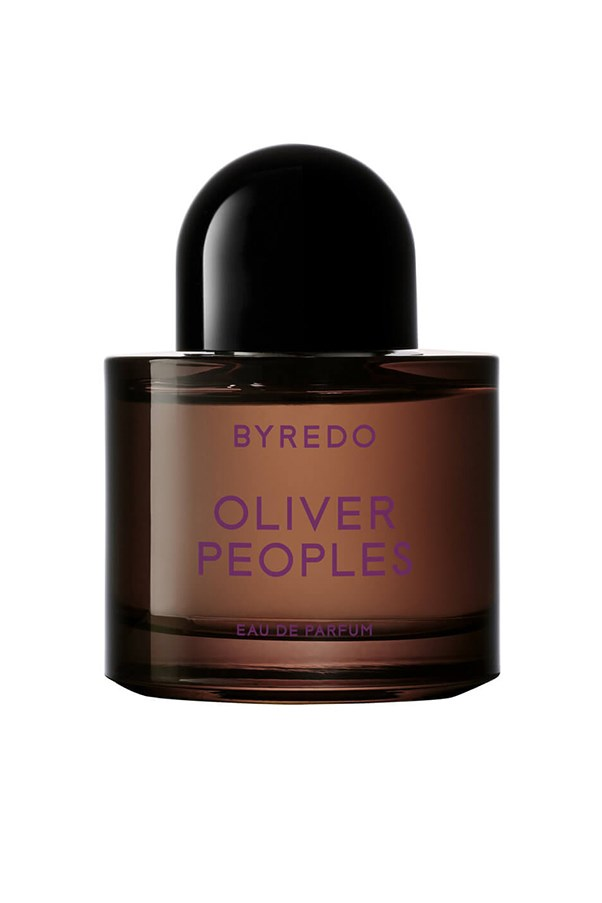 """<strong>9. Byredo Oliver People's EDP</strong> <br><br>A first-anniversary follow-up to the original collab between these two brands, this heady olfactory offering is another winner. A musky mix of juniper berries, lemon and patchouli. <em><br><br>Byredo Oliver People's EDP, $196, <a href=""""http://mecca.com.au/byredo/oliver-peoples-edp/V-024104.html?cgpath=whatsnew-fragrance%20-%20start=1"""">Mecca Cosmetica </a></em>"""