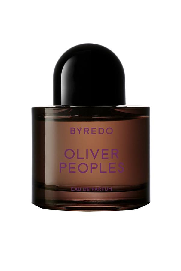 "<strong>9. Byredo Oliver People's EDP</strong> <br><br>A first-anniversary follow-up to the original collab between these two brands, this heady olfactory offering is another winner. A musky mix of juniper berries, lemon and patchouli. <em><br><br>Byredo Oliver People's EDP, $196, <a href=""http://mecca.com.au/byredo/oliver-peoples-edp/V-024104.html?cgpath=whatsnew-fragrance%20-%20start=1"">Mecca Cosmetica </a></em>"