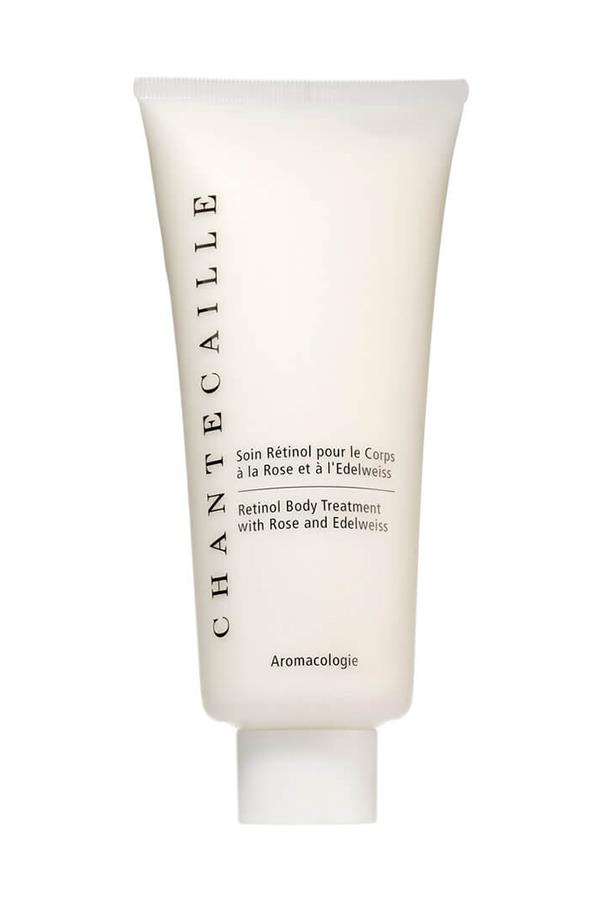 "<strong>11. Chantecaille Retinol Body Treatment</strong> <br><br>A revolutionary body treatment that heroes retinol, an advanced active that works to improve skin texture and tone, as well as reduce ingrown hairs. Cue: firm, flake-free, flawless skin. <em><br><br>Chantecaille Retinol Body Treatment, $144, <a href=""http://mecca.com.au/chantecaille/retinol-body-treatment/I-024071.html#q=retinol%2Bbody&start=1"">Mecca Cosmetica</a></em>"