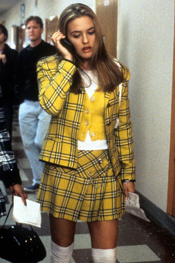 <strong>Tartan plaid mini skirt</strong><br><br> <em>Clueless</em>' Cher Horowitz, 1995