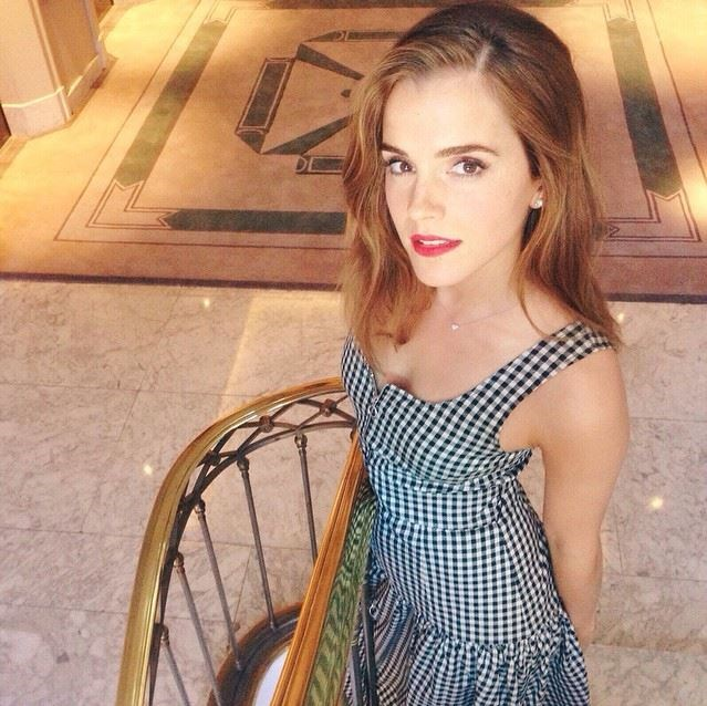 "<strong>Emma Watson</strong> <br> Learning from the pros, Emma Watson revealed her trick for fixing up <a href=""http://www.marieclaire.com/beauty/makeup/g1363/emma-watson-beauty-secrets/?slide=8"">mascara mistakes</a> is dipping ""a cotton ball into some foundation to remove it and conceal at the same time."""