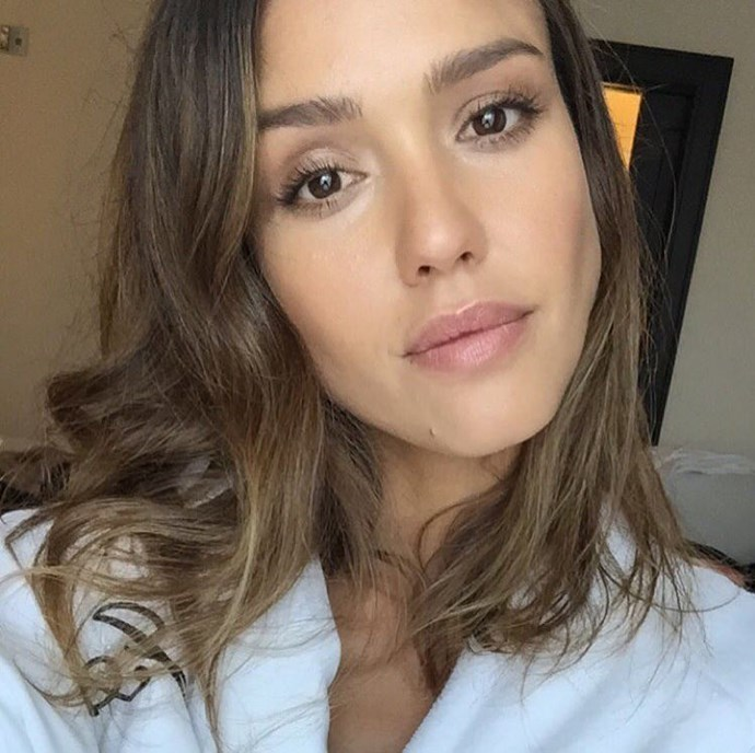 "<strong>Jessica Alba</strong> <br> Jessica Alba's tip for <a href=""https://www.facebook.com/thecoveteur/videos/1047166025338627/?video_source=pages_finch_main_video"">perfect mascara application</a> is to ""actually close your eyelash on to the brush. You get a more even amount of mascara from the base all the way to the end, and it kind of brushes out the lashes."""