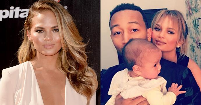 """<strong>Chrissy Teigen</strong><br><br> Chrissy has shaken up her summer look by adding some chic bangs to her ombre locks. <br><br> Image: Instagram <a href=""""https://www.instagram.com/p/BJWpob-Byc_/?taken-by=chrissyteigen"""">@chrissyteigen</a>"""