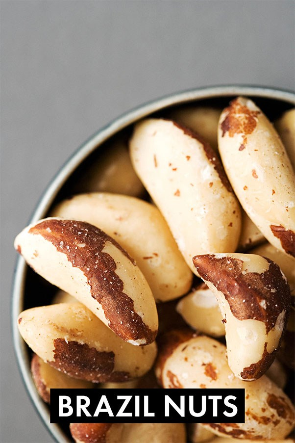 Next time you want to discard those large nuts from the mixed nut selection, don't. They're actually little fat-burners. They help boost the metabolism by converting the thyroid hormone to its active form. They also bind up toxins that would otherwise store themselves in your fat cells and contribute to cellulite.<br><br> <strong>Easy meal ideas:</strong> Snack on Brazil nuts, drink Brazil nut milk with vanilla and cardamom, or spinkle Brazil nuts on a mango, papaya, and citrus fruit salad.