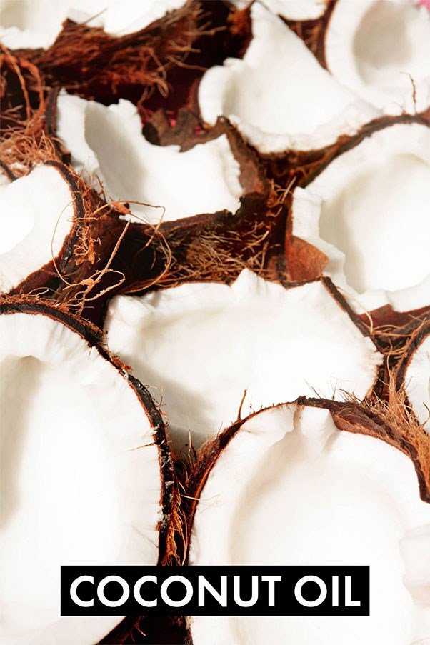 """Not all dietary fats are created equal. Coconut oil is rich in medium-chained-triglycerides (MCTs), which your body preferentially uses for energy, leaving less opportunity for them to be stored as fat. <a href=""""http://ajcn.nutrition.org/content/87/3/621.full"""">A study</a> published in the <em>American Journal of Clinical Nutrition</em> showed greater abdominal fat loss over a 16-week period when MCTs were consumed versus olive oil. That doesn't mean ditching your olive oil entirely (it has other beneficial properties). Instead, use coconut oil to cook with and olive oil for a salad dressing."""
