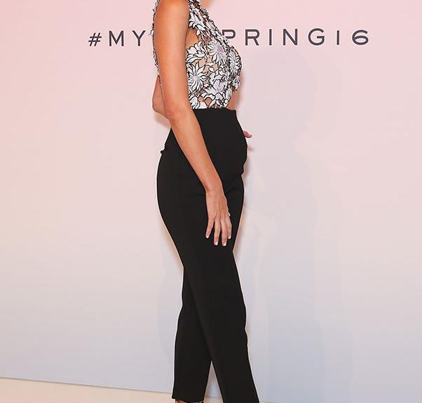 Celebrity Front Row from the Myer Spring Summer Fashion Launch 2016