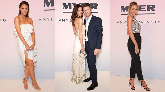 The Australian style set brought their A-game to the Myer spring summer 16 launch in Sydney overnight. Here, we celebrate the best A-list looks.