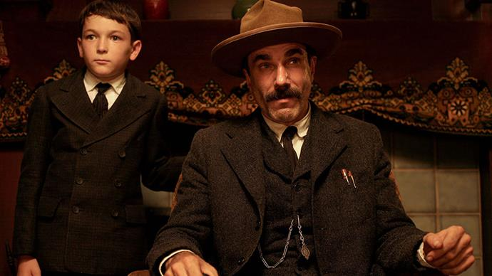 <strong>3. There Will Be Blood (2008)</strong><br><br> A hard-nosed silver miner strikes (metaphorical) gold with the discovery of a major oil well, but as his wealth increases he alienates his son and becomes an increasingly paranoid and vile man, played impeccably by Daniel Day Lewis.<br><br> Directed by: Paul Thomas Anderson