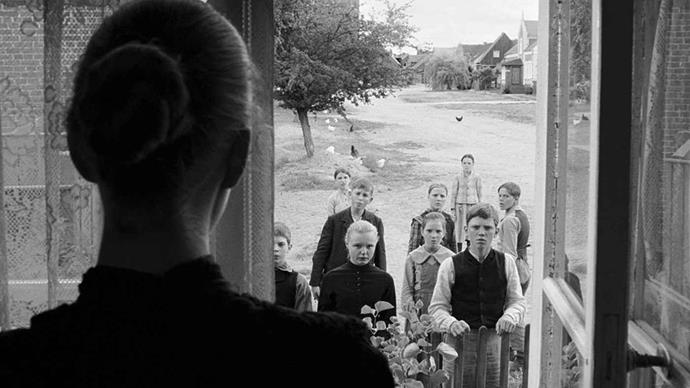 <strong>18. The White Ribbon (2009)</strong><br><br> This eerie drama tracks a series of strange, and increasingly troubling events in a small puritanical village in Germany circa 1913. Shot in black and white and featuring stunning cinematography, it's no surprise Michael Haneke's film took out the prestigious Palm d'Or at Cannes in 2009.