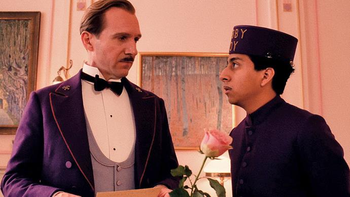 <strong>21. The Grand Budapest Hotel (2014)</strong><br><br> Ralph Fiennes heads up the sprawling all-star cast (think Tilda Swinton, Bill Murray, Edward Norton, Adrien Brody and Harvey Keitel) as the charismatic concierge Gustave H. in this quirky, hilarious Wes Anderson romp.
