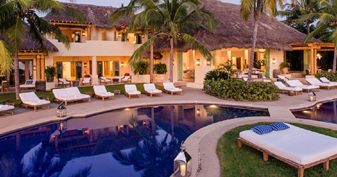 inside kim kardashians mexican vacation house