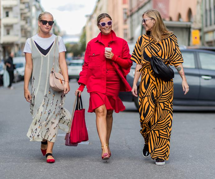 Street style stockholm fashion week pictures
