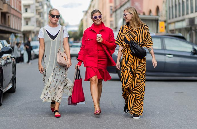 <em>BAZAAR</em> is zooming in on the best street style looks from Stockholm fashion week, spring/summer '17, as they happen.