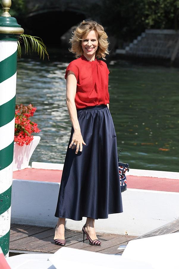 Festival hostess Sonia Bergamasco