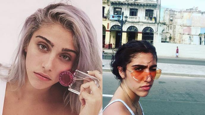 <strong>Lourdes Leon</strong> <br><br> <strong>Celebrity Parentage:</strong> Madonna and Carlos Leon. <br><br> <strong>Her deal:</strong> The notoriously reclusive teen (she's the only entry to this list without a social media account) burst onto the fashion scene after she fronted Stella McCartney's 'Pop' fragrance campaign.
