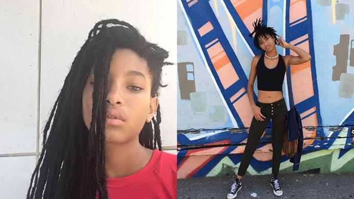 <strong>Willow Smith</strong><br><br> <strong>Celebrity parentage:</strong> Will Smith and Jada Pinkett Smith. <br><br> <strong>Her deal:</strong> Like her brother Jaden, Willow has burst onto the fashion scene this year, but swapped Louis Vuitton for Chanel. The 15-year-old fronted Chanel Eyewear's latest campaign and donned the brand for a winning Met Gala look.