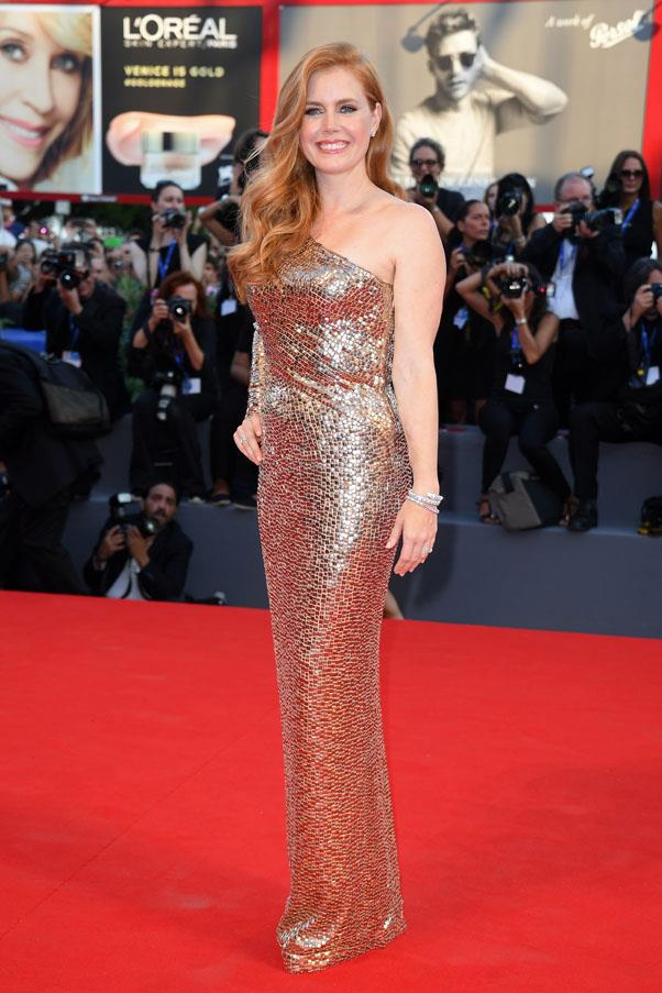 Amy Adams at the premiere of <em>Nocturnal Animals</em>.