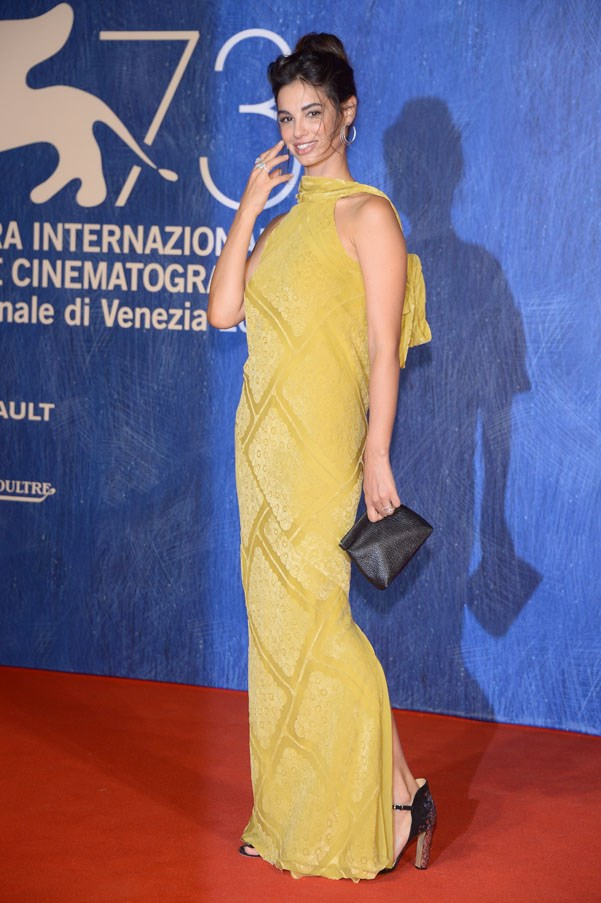 Francesca Chillemi at the premiere of <em>Franca: Chaos And Creation</em>.