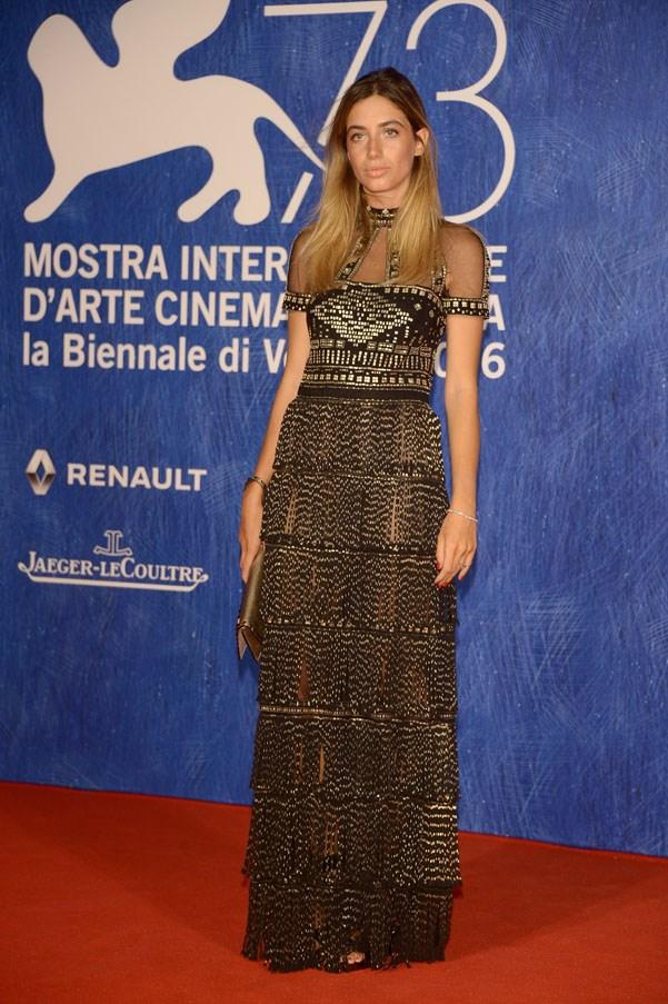 Virginia Valsecchi attends the premiere of <em>Franca: Chaos And Creation</em>.