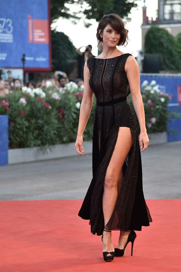 Gemma Arterton at the premiere of <em>The Young Pope</em>.