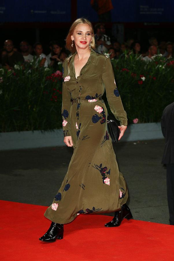 Vera Vitali at the premiere of <em>Brimstone</em>.