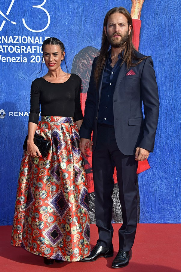 Roberta Pitrone and Alessandro Borghi attend the premiere of <em>I Was A Dreamer</em>.