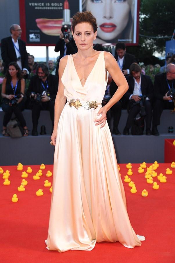 Lidia Vitale at the premiere of <em>Piuma</em>