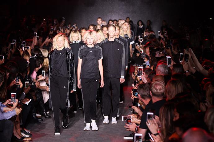 <strong>Runway</strong> <br><br> The models wore Wang's new collaboration with Adidas as their final looks.