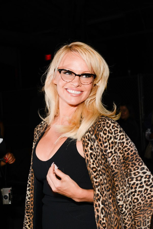 <strong>Front Row</strong> <br><br> Pamela Anderson