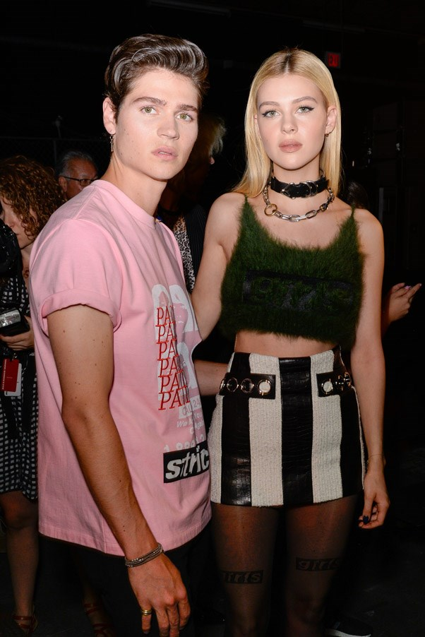 <strong>Front Row</strong> <br><br> Will and Nicola Peltz