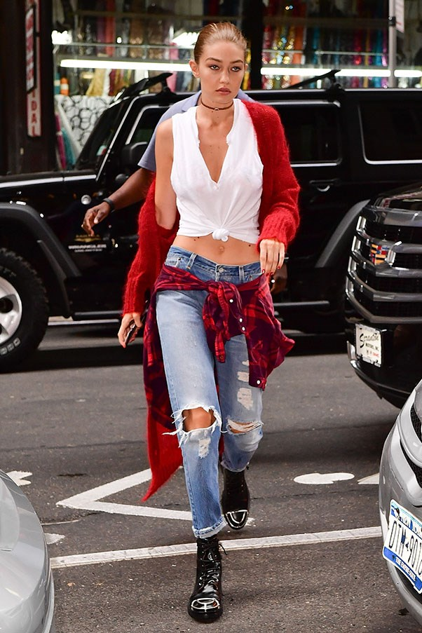 <strong>Day 4:</strong> <br><br> No one does off-duty quite like Gigi.