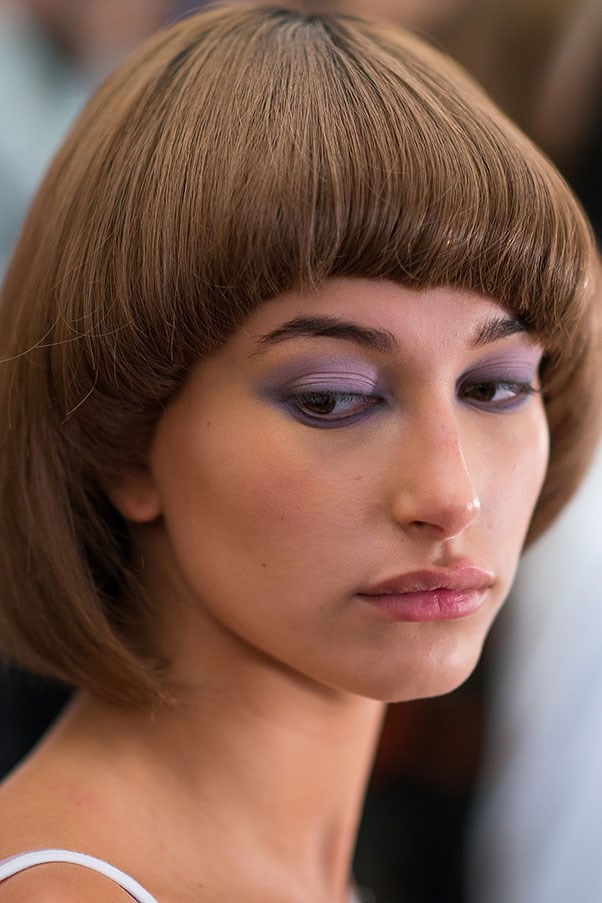 <strong>Day 5:</strong> <br><br> Backstage at Jeremy Scott.