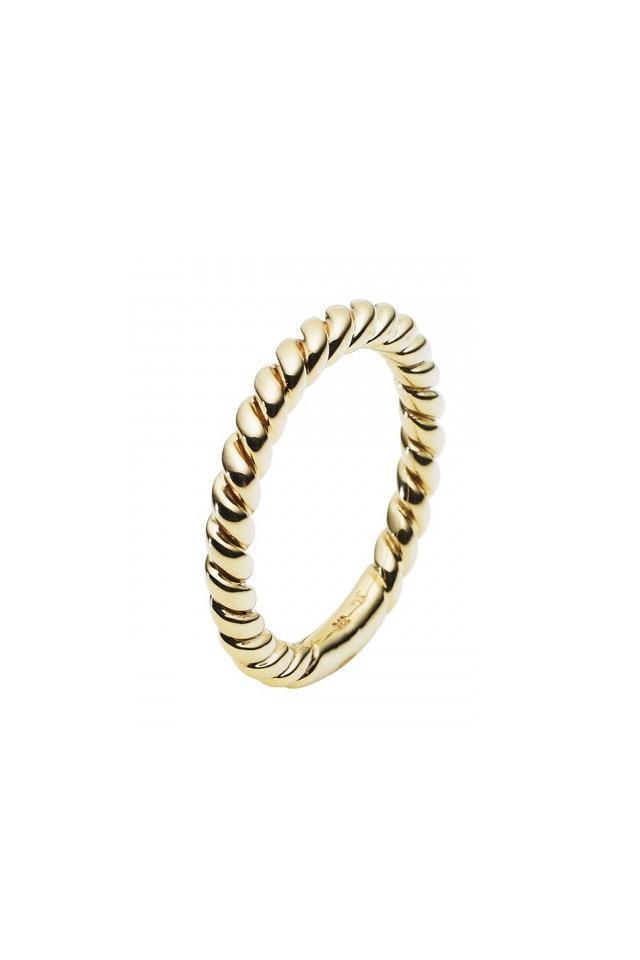 "Ring, $525, <a href=""http://www.janlogan.com/gold-ring-181965"">Jan Logan</a>"