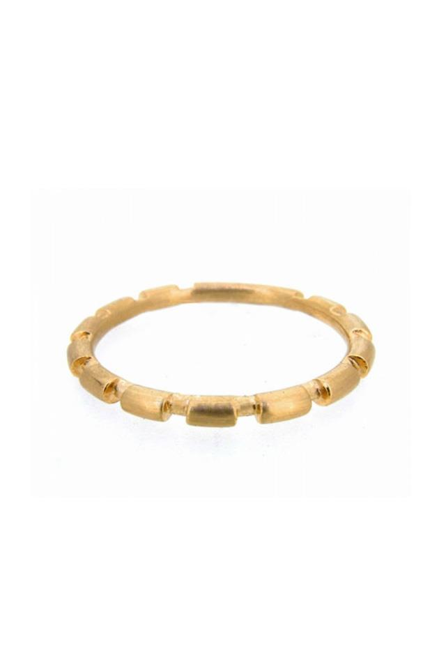 "Ring, $331 - $450, <a href=""https://www.melissaharrisjewellery.com/shop/jewellery/rings/bamboo-stack-ring/"">Melissa Harris</a>"