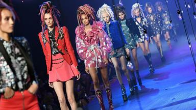 Every Colourful Moment From Marc Jacobs' Wonderland Runway At NYFW