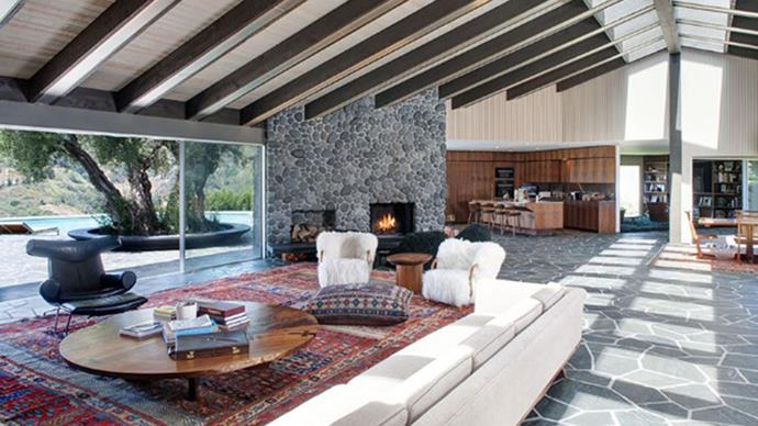 Rustic and homely, Levine and Prinsloo know how to set real estate goals.