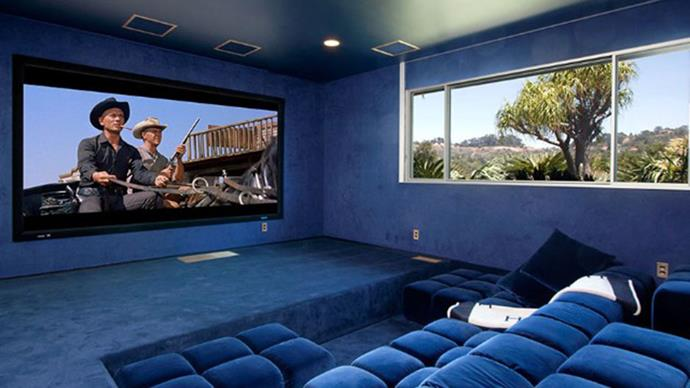 No multi-million dollar home is complete without a home theatre.