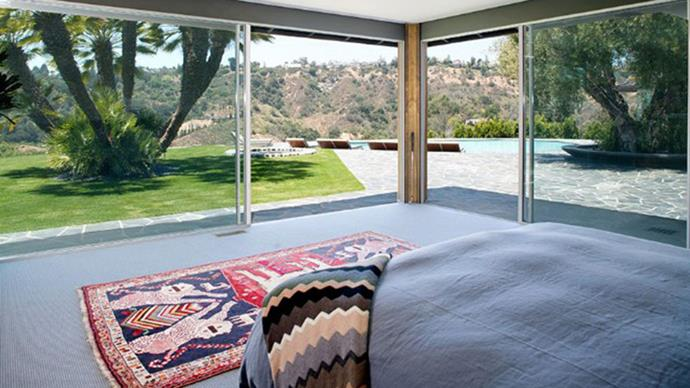 Why have walls when you can have glass windows?