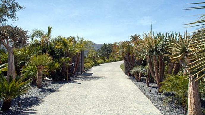 Driveway leading up to real estate heaven.