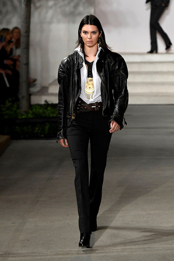 <strong>Day 7:</strong> <br><br> Kendall owns the Ralph Lauren runway for the S/S '17 show.