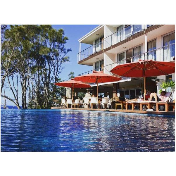 """<strong><a href=""""http://www.bannisters.com.au/"""">Bannisters</a></strong> </strong> <br><br> <strong>Location:</strong> Mollymook, NSW <br><br> For another just-out-of-Sydney escape, head to Mollymook and Bannisters for a pool and beachside dining experience. Our tip? Head to the roof for cocktails with a view to follow your meal. <br><br> <a href=""""https://www.instagram.com/bannistershotels/"""">@bannistershotels</a>"""