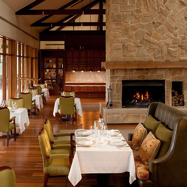 """<strong><a href=""""https://www.oneandonlyresorts.com/one-and-only-wolgan-valley-australia/cuisine/wolgan-dining-room"""">The Wolgan Dining Room</a></strong> </strong> <br><br> <strong>Location:</strong> Wolgan Valley, NSW <br><br> Even though it's just a few hours out of Sydney, this resort feels closer to the centre of Australia as it's surrounded by lush countryside. When you're there, make sure to visit the cheese room; it's a must-eat. <br><br> <a href=""""https://www.instagram.com/wolganv/"""">@wolganv</a>"""