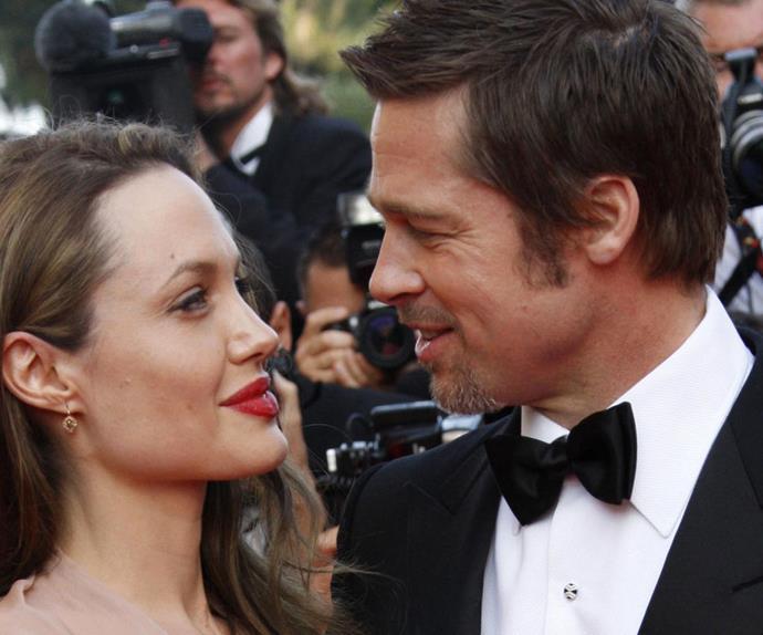 Angelina Jolie Brad Pitt Divorce Split