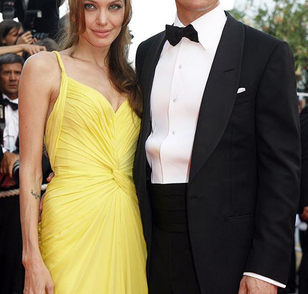 Brad Pitt Angelina Jolie Red Carpet Style