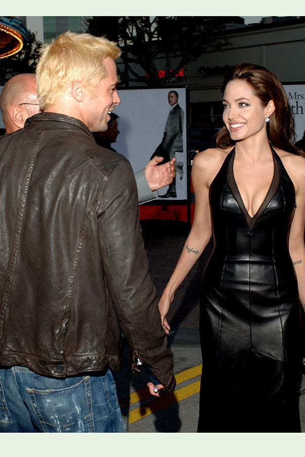 At the Los Angeles premiere of <em>Mr. and Mrs. Smith</em>, 2007.