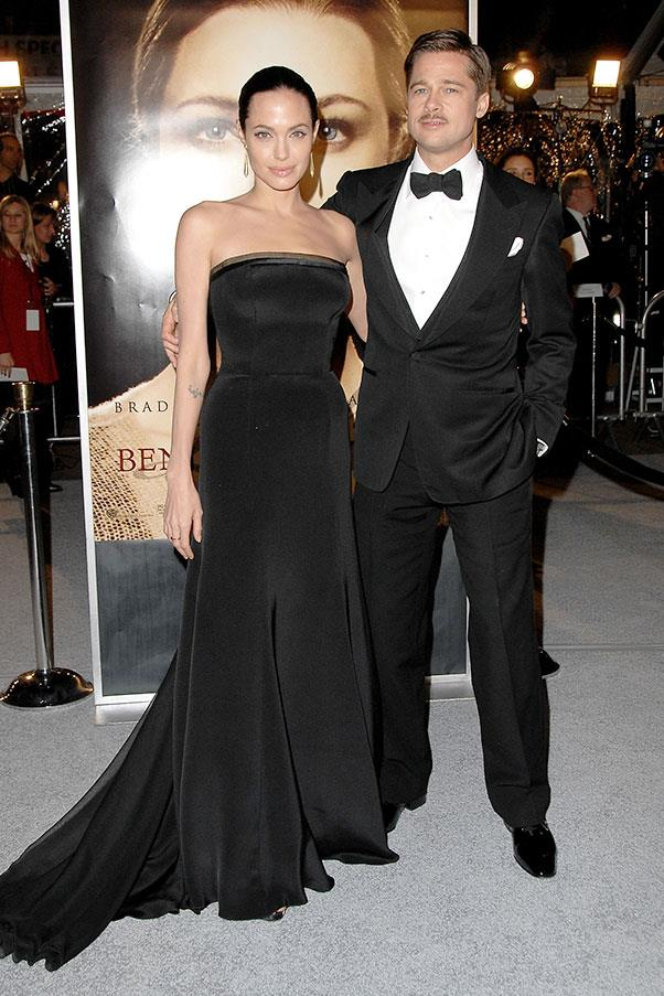 At the Los Angeles premiere of <em>The Curious Case of Benjamin Button</em>.