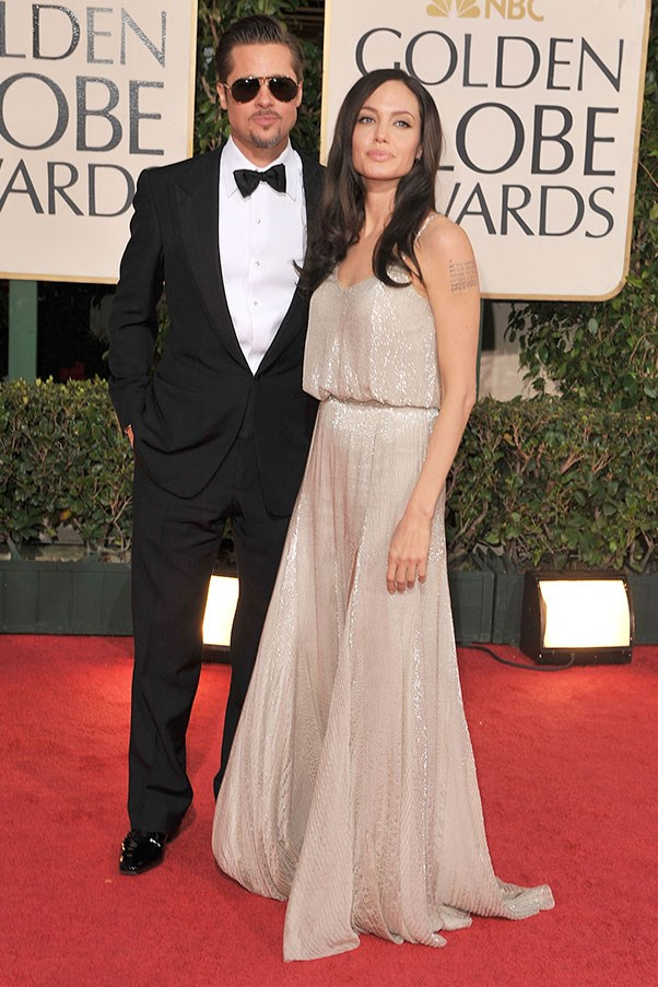 At the Golden Globes, 2009.
