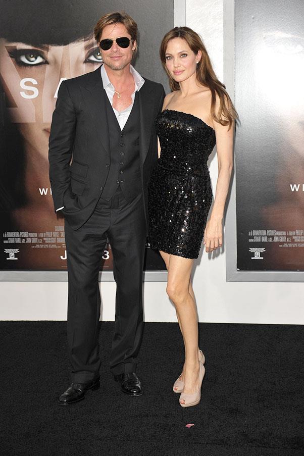 At the world premiere of <em>Salt</em>, 2010.